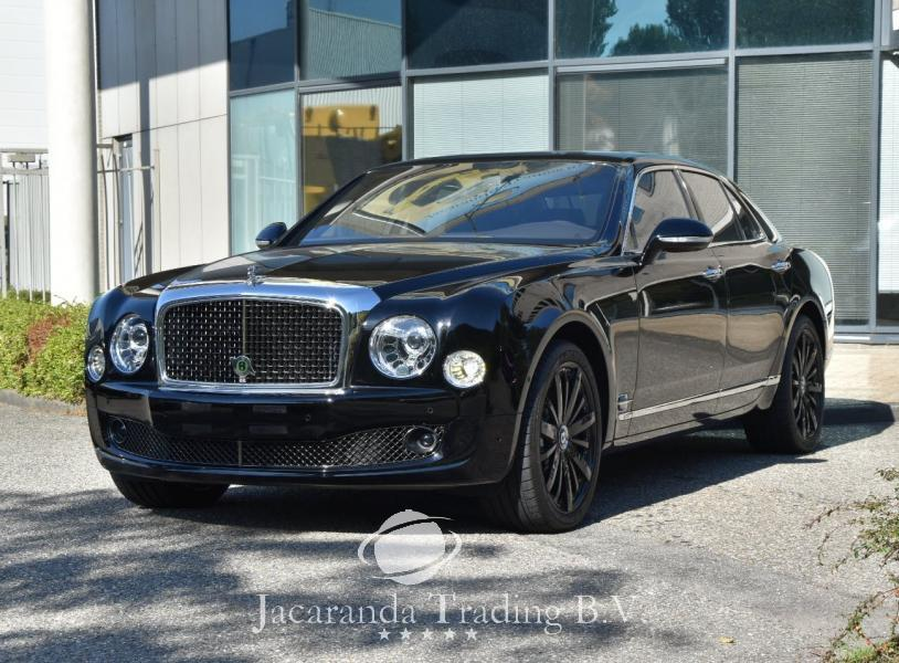 Bentley  Mulsanne Speed  Bleu Train